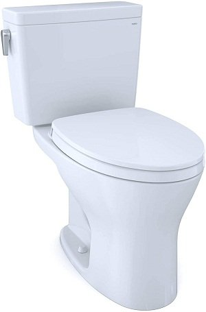 TOTO Drake Two-Piece Elongated Dual Flush With CEFIONTECT