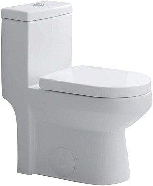 Horow HWMT-8733 Small Dual Flush Toilet