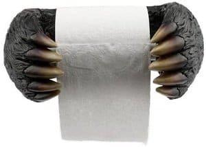 Cute Bear Paws Toilet Roll Holder
