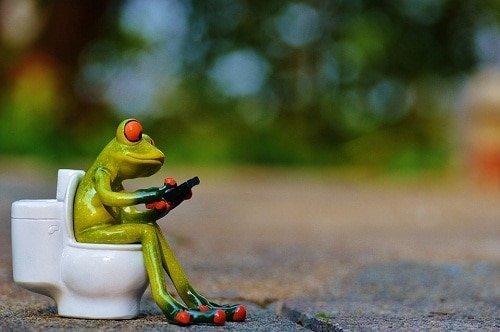 Sitting position toilet
